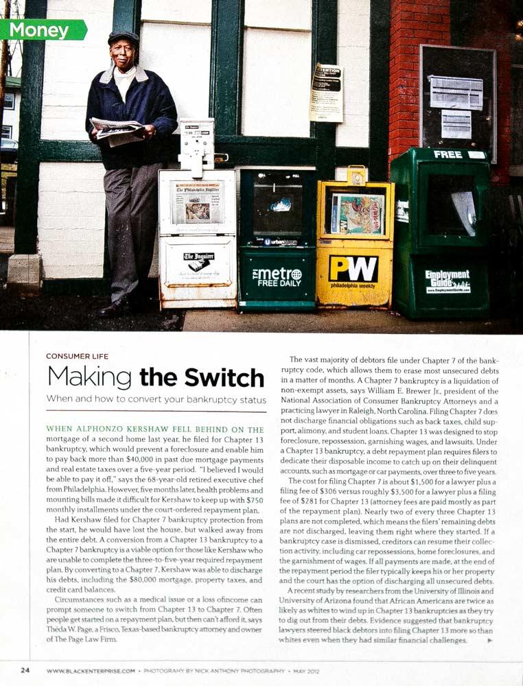 Black Enterprise Magazine :: Alphonzo Kershaw