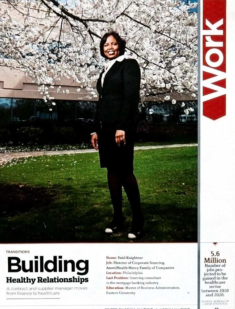 Black Enterprise-Magazine ::  Enid Knightner
